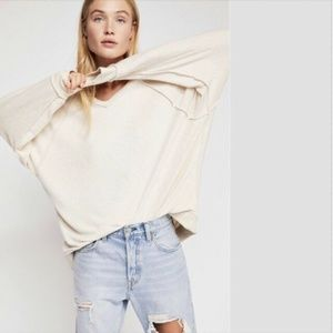 Free People Women's Pullover Oversized Sweater L